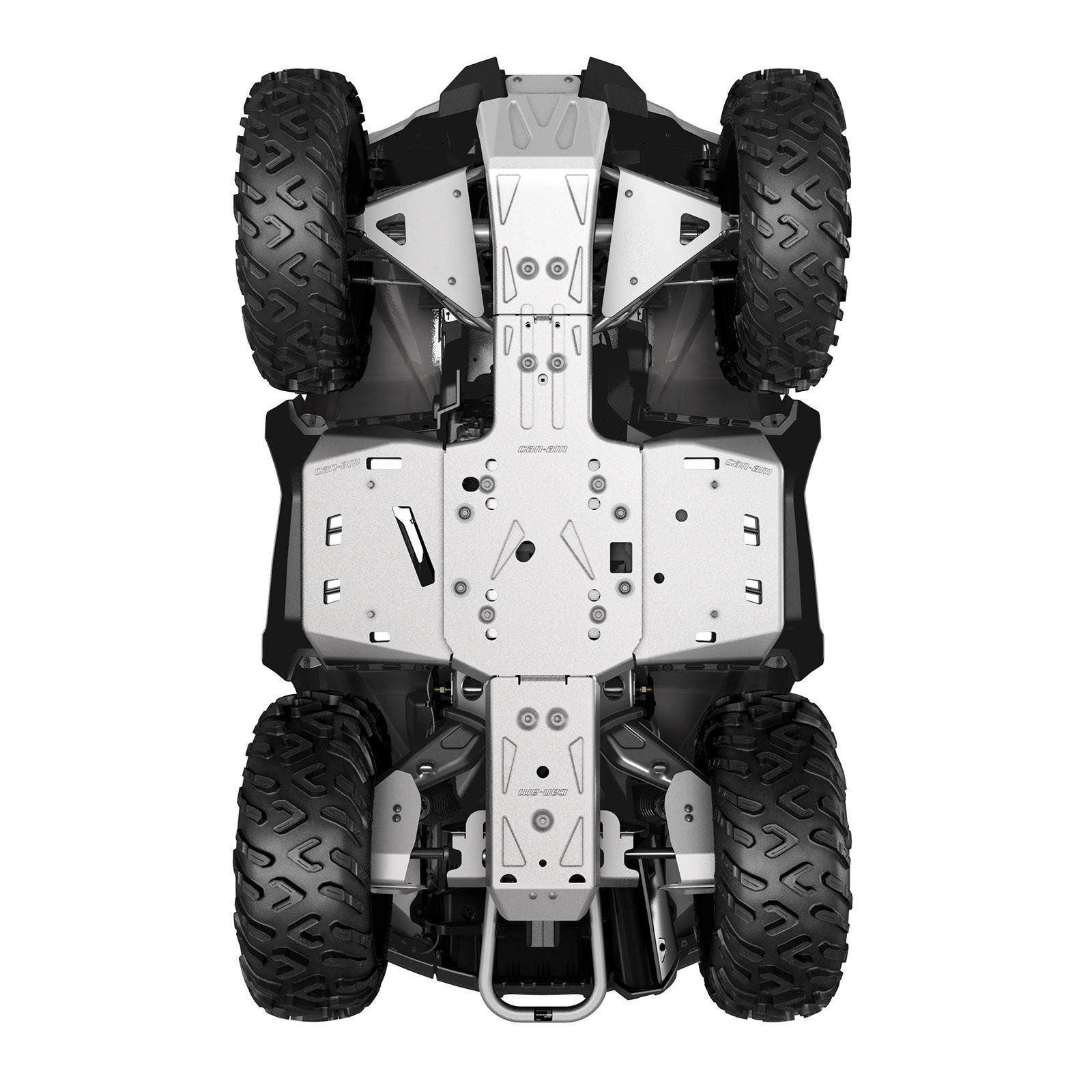 ALUMINUM SKID PLATE KIT, G2 (2016 a starší) (Okrem modelov MAX a X mr 1000R)