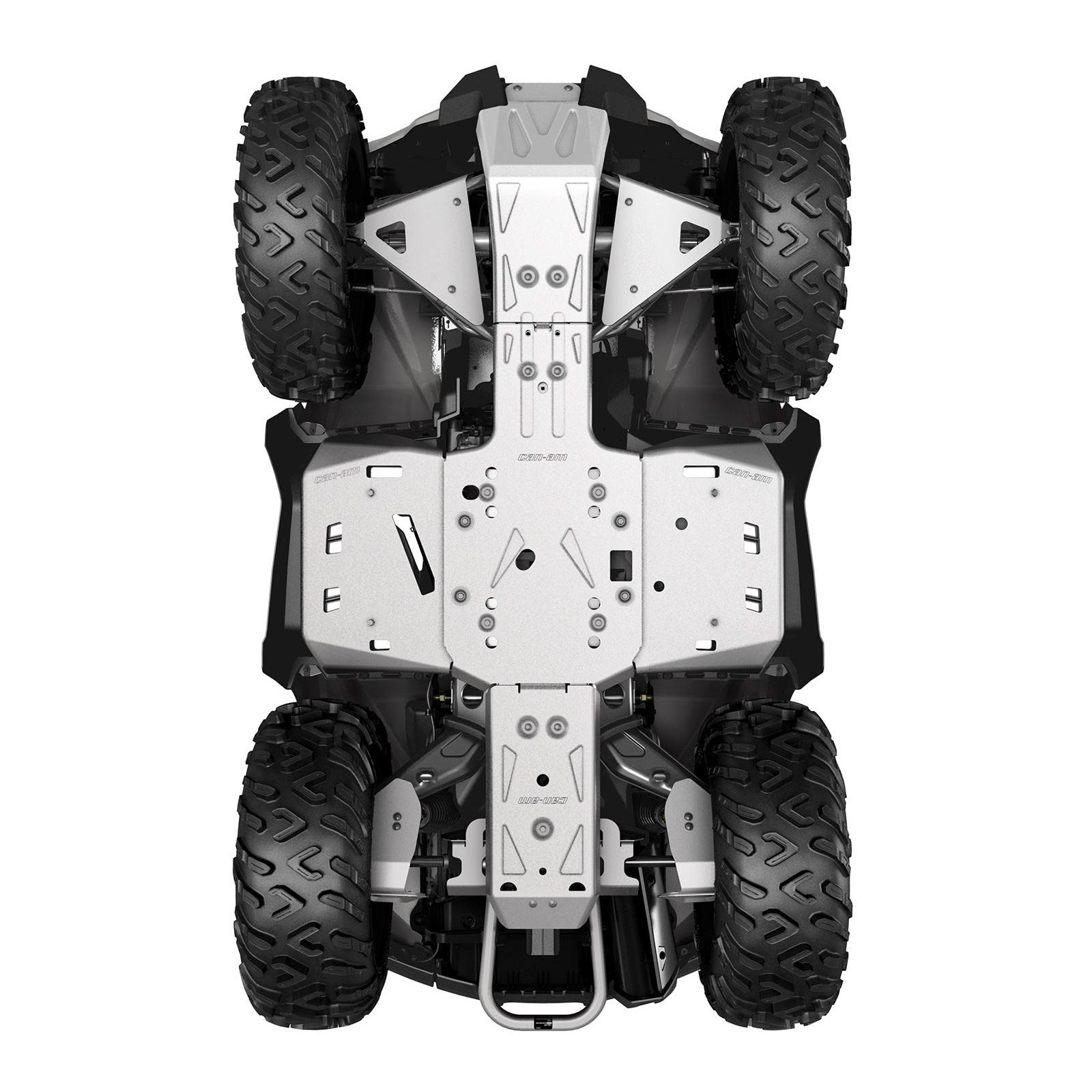 ALUMINUM SKID PLATE KIT, G2 (2016 a starší) (Iba modely MAX - X mr 1000R)