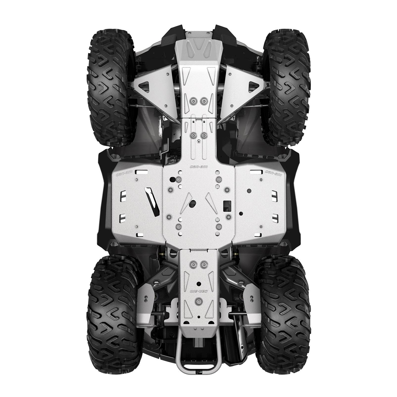ALUMINUM SKID PLATE KIT, G2 (2017-2018) (Okrem modelov MAX a X mr 1000R)