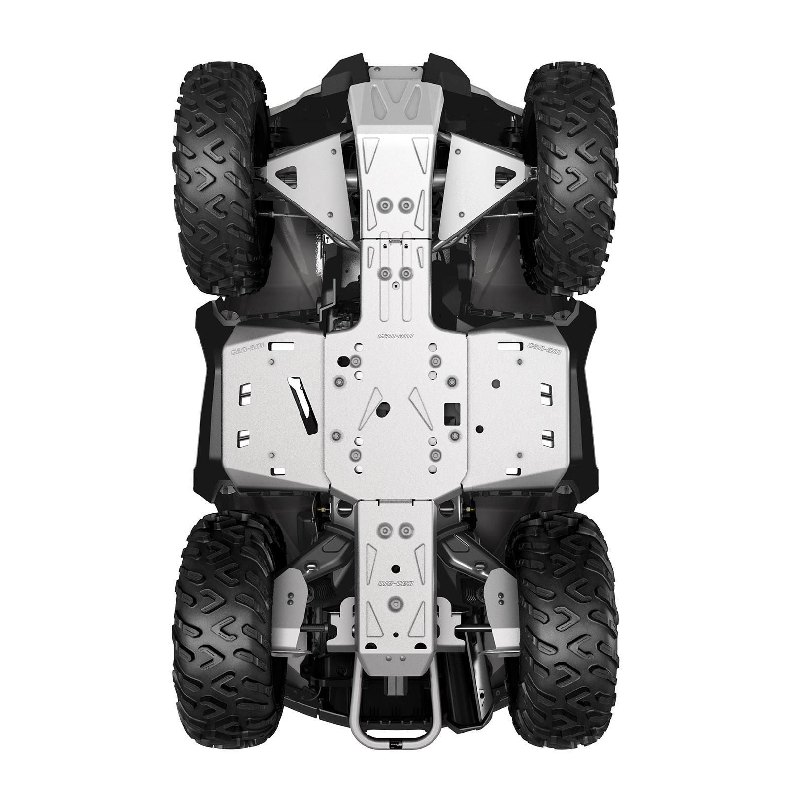 ALUMINUM SKID PLATE KIT, G2 (2017-2018) (Iba modely MAX, X mr 1000R)