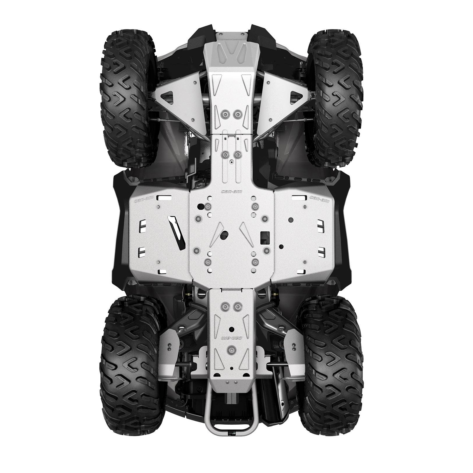 ALUMINUM SKID PLATE KIT, G2 (2019 a novší) (Okrem modelov MAX a X mr 1000R)