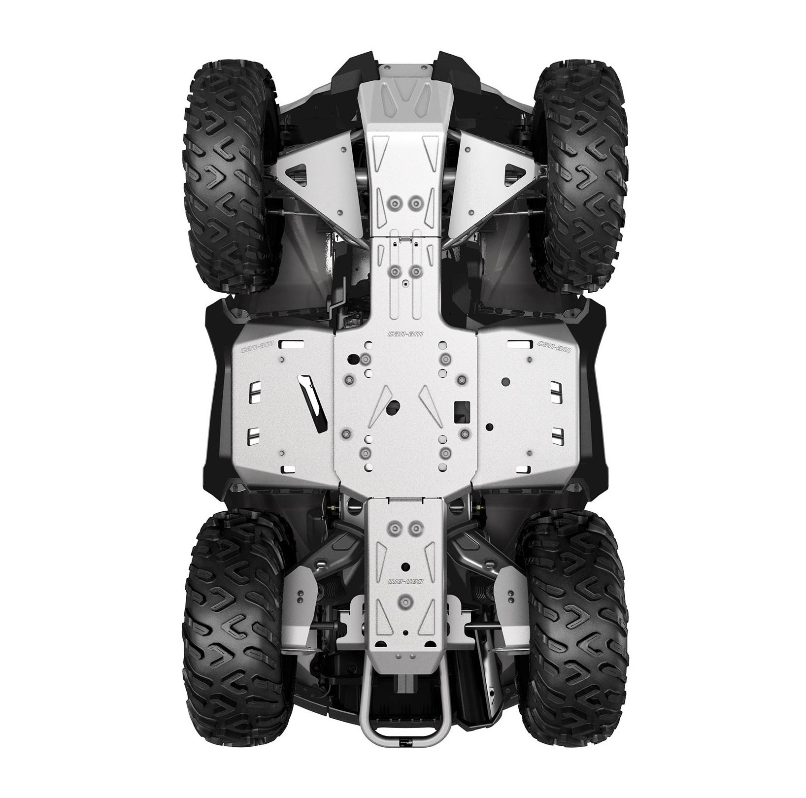 ALUMINUM SKID PLATE KIT, G2 (2019 a novší) (Iba modely MAX, X mr 1000R)