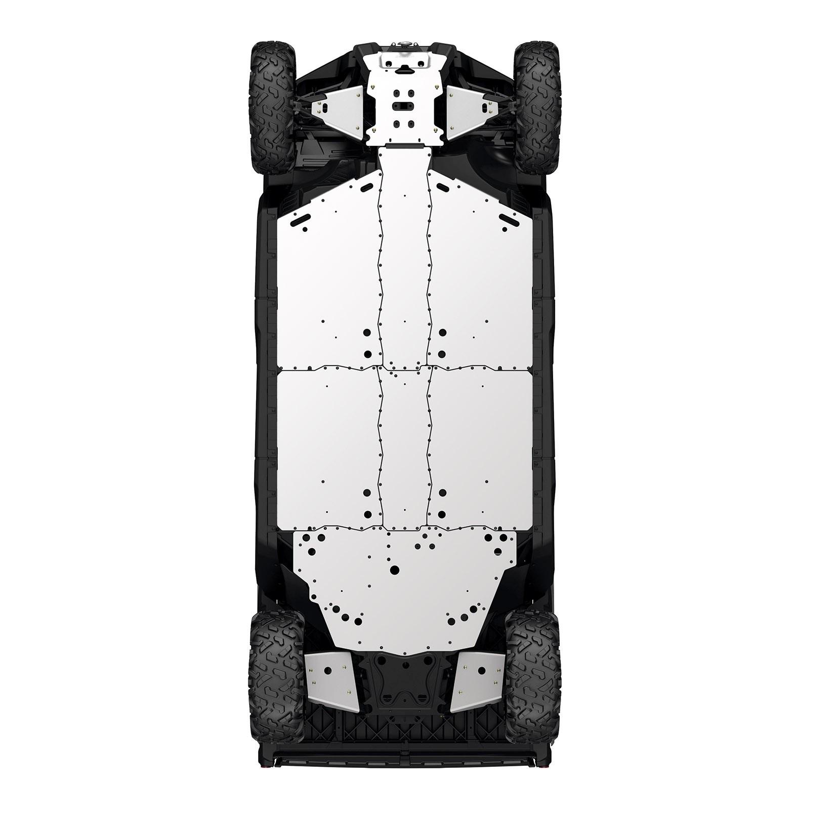 ALUMINUM SKID PLATE PROTECTION KIT (Base, DPS, XT, XT Kabína 2017 a predchádzajúca a poľovnícka edícia) (iba MAX)