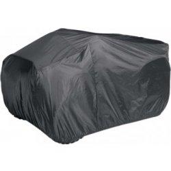 Plachta na štvorkolku čierna L - vysokokvalitný polyester (220x125x70)