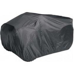 Plachta na štvorkolku čierna XXL - vysokokvalitný polyester (300x195x120)
