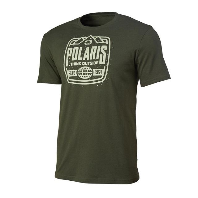 Tričko POLARIS STAMP (zelená) 2861564