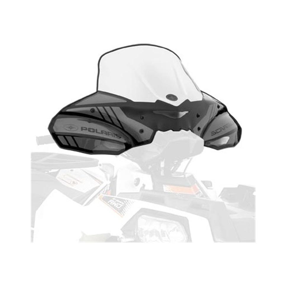 Polaris Lock and Ride - Plexi štít (Smoke) (SCRAMBLER 850)